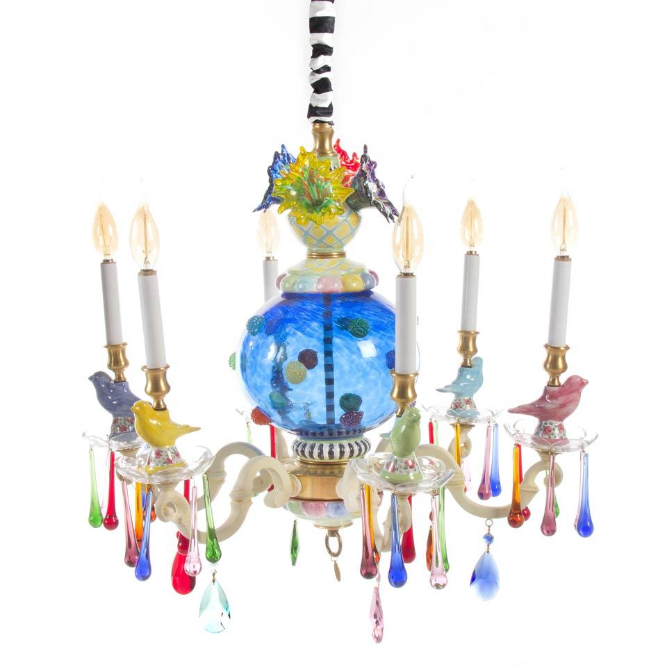 Mackenzie childs lighting merrifield chandelier small price 459500 merrifield chandelier small arubaitofo Image collections