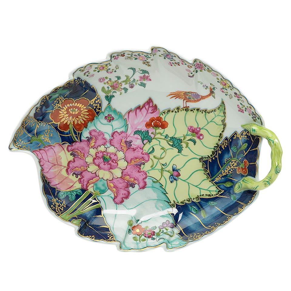 Mottahedeh ~ Tobacco Leaf ~ Dish, Large, Price $385.00 in New York ...