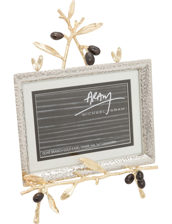 Michael Aram ~ Home Accessories ~ Olive Branch Frame with Easel Gold ...