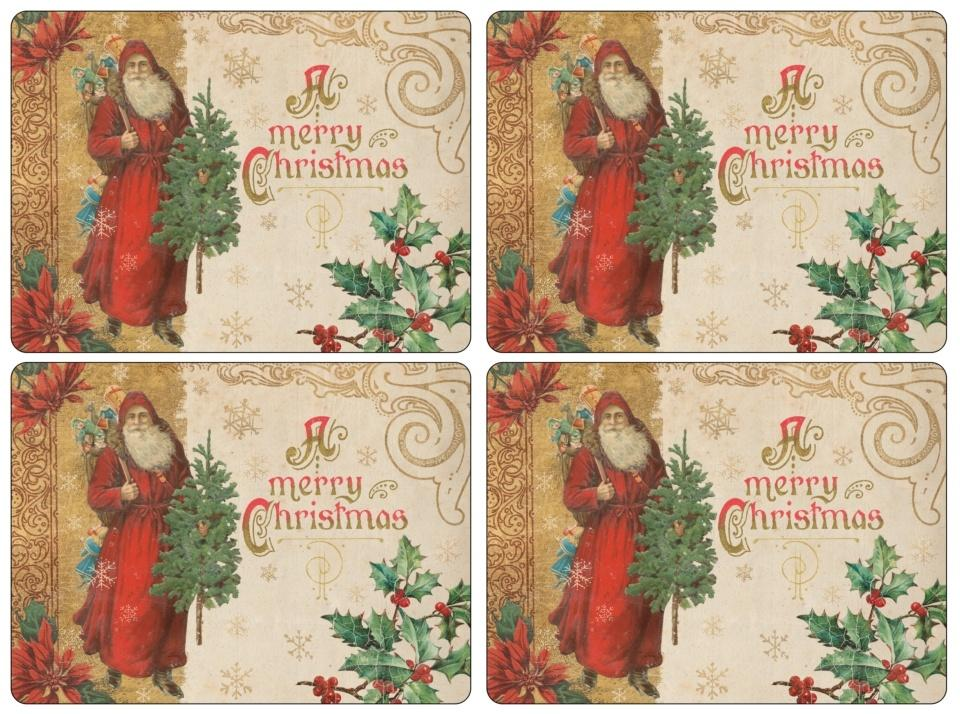 Pimpernel ~ Table Linens & Placemats ~ Victorian Christmas Placemats ...