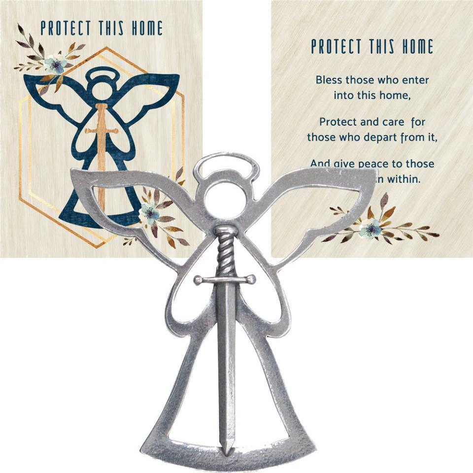 ANGEL BLESSING ORNAMENT � PROTECT THIS HOME