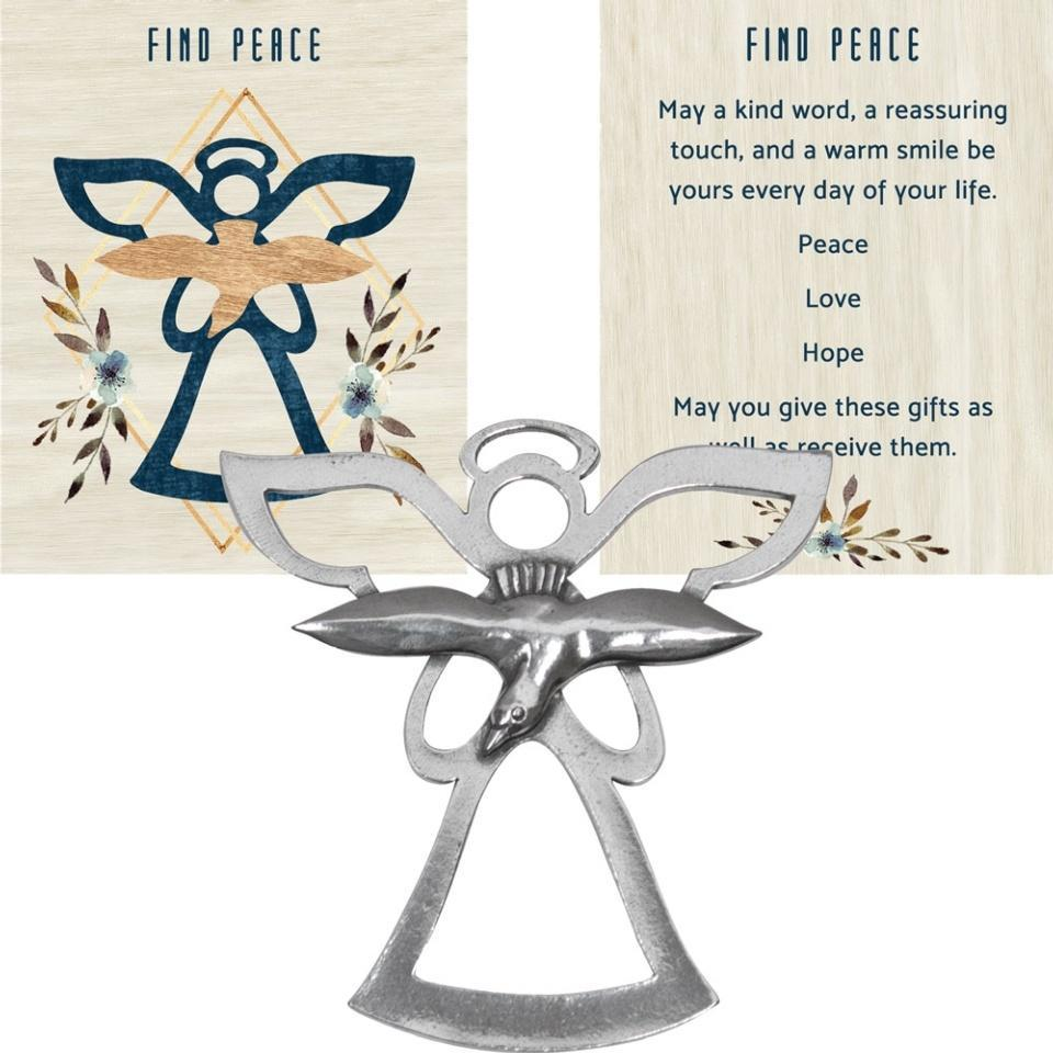 ANGEL BLESSING ORNAMENT � FIND PEACE