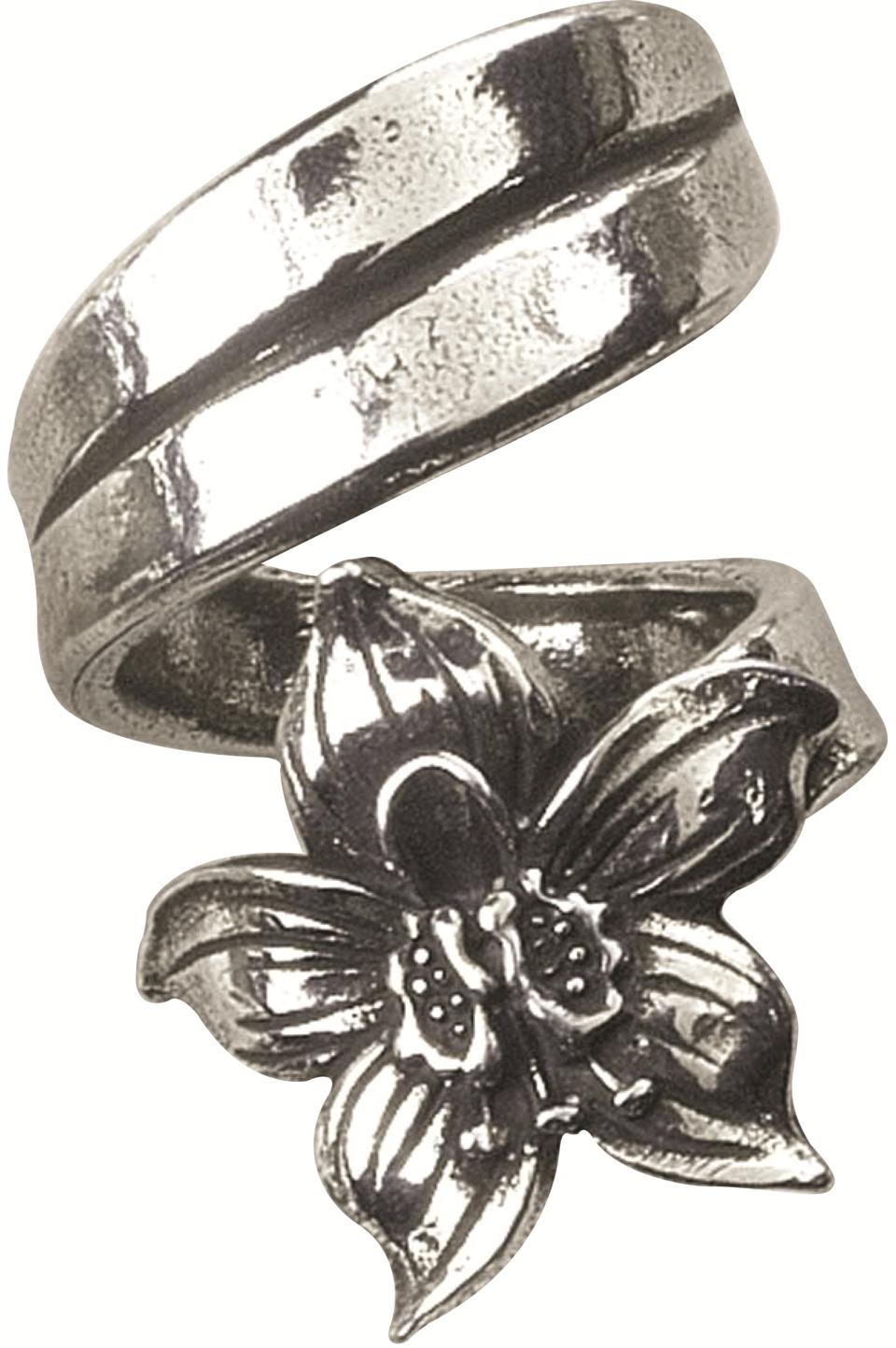 Ring, July/Larkspur