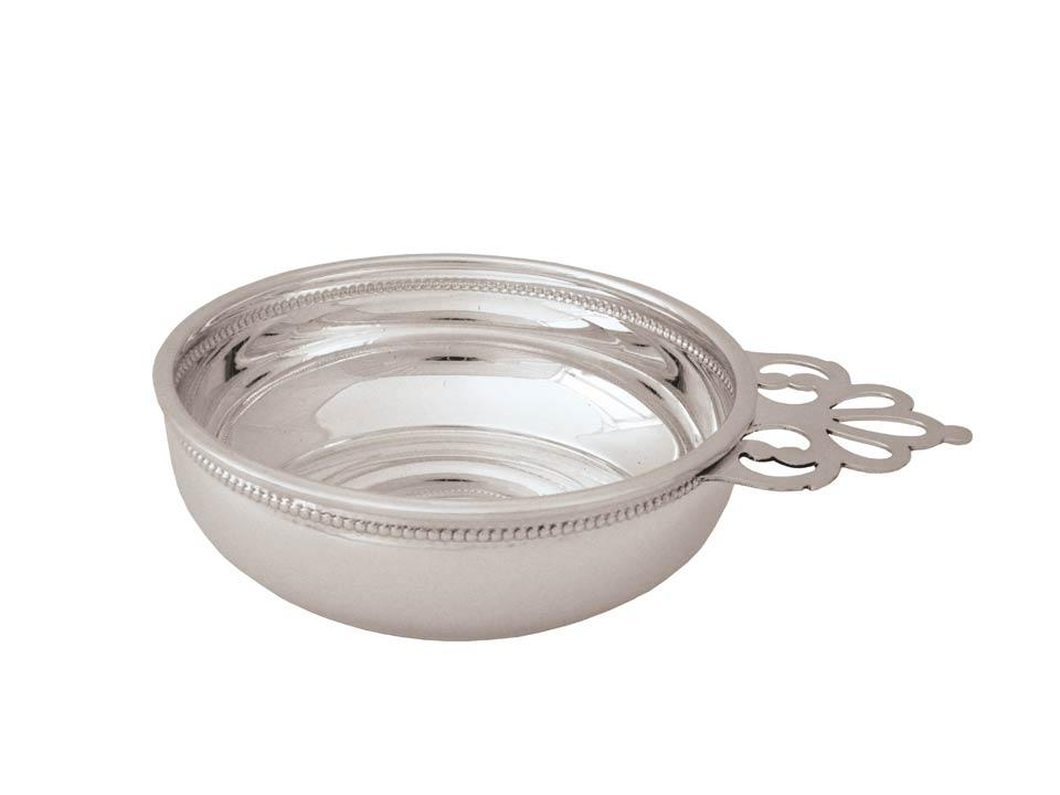 Traditional Porringer With Beading