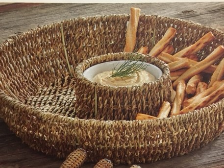 $28.00 Seagrass Chip and Dip