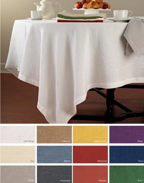$276.00 Riviera Tablecloth 68x120