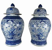 3 Monkeys Exclusives   East Enterprises Blue and White Ginger Jar $160.00
