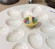 Nora Fleming   Egg Platter $38.00
