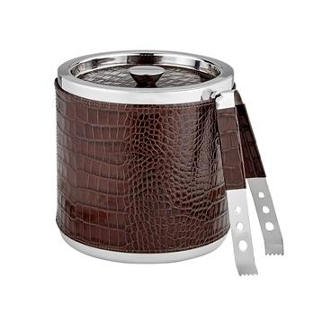 $180.00 leather ice bucket