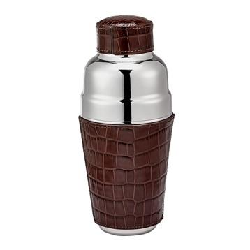 $125.00 leather cocktail shaker