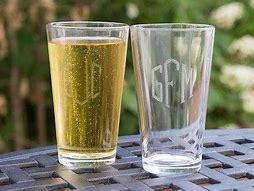 Susquehanna Glass   Pint Glass set of 4 $58.00