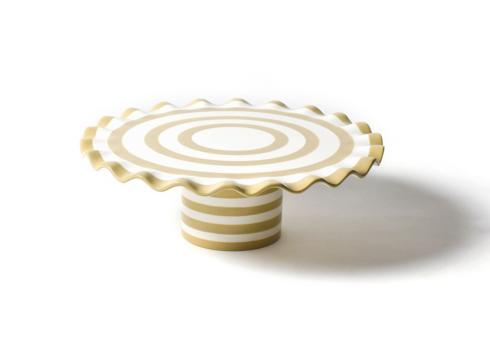 Happy Everything by Coton Colors  Happy Everything  Spot On Ruffle Cake Stand $65.00