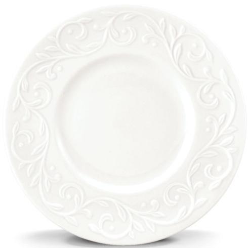Lenox  Opal Innocence Carved China Opal Innocence Carved Salad Plate $25.00