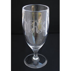Tiger Lily  Ice Beverage monogram  Pilsner w/ Monogram 14oz $11.00