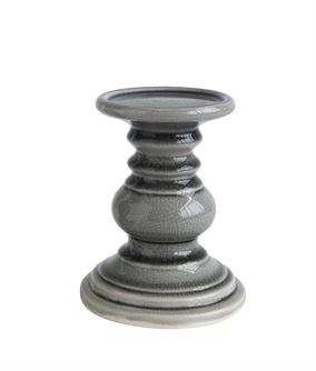 Grey candle sticks with candles collection with 1 products