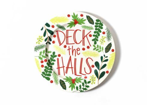 Happy Everything by Coton Colors  Happy Everything  Deck the HAlls Platter $50.00