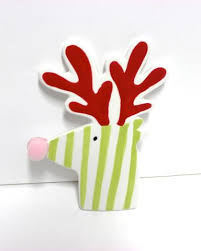 Happy Everything by Coton Colors  Happy Everything  Blitzen Mini Attachment $16.00