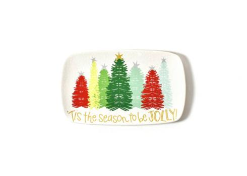 Happy Everything by Coton Colors  Happy Everything  Fa La La Firs Rectangle Platter $35.00
