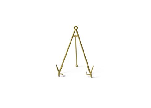 Happy Everything by Coton Colors  Happy Everything  Gold Large Flare Plate Stand $18.00