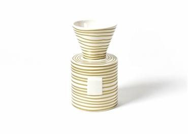 Gold Stripe H. E.  Vase collection with 1 products