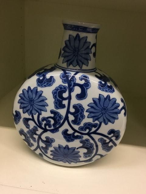 Annadale's Exclusives   Blue Vase $69.99