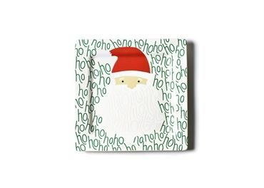 Happy Everything by Coton Colors   Ho Ho Santa Square Platter  $49.95