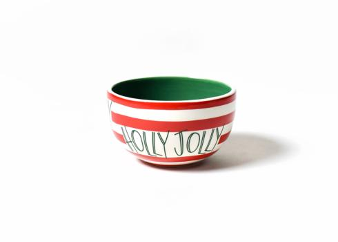 Happy Everything by Coton Colors  Happy Everything  Holly Jolly Bowl $16.00