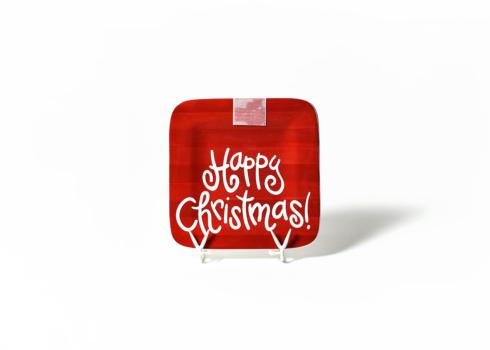 Happy Everything by Coton Colors  Happy Everything  Happy Christmas Mini Platter $45.00