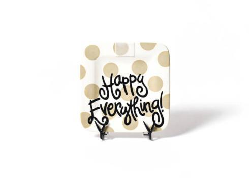 Happy Everything by Coton Colors  Happy Everything  Neutral Dot Happy everything Platter $49.95