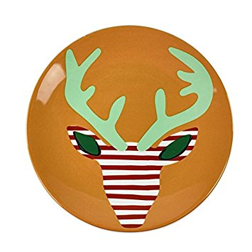 Happy Everything by Coton Colors  Happy Everything  Deer Salad Plates $16.00