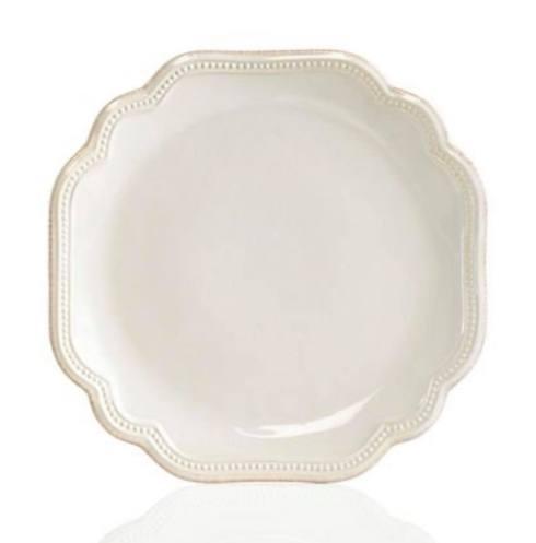 Lenox  White Bead  Salad Plate  $25.00