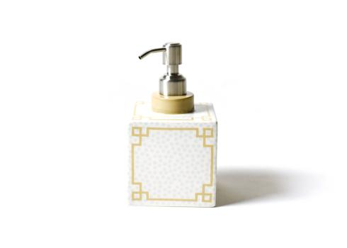 Happy Everything by Coton Colors  Happy Everything  Small Dot Square Soap Pump $30.00