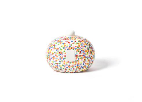 Happy Everything by Coton Colors  Happy Everything  Mini Toss Cookie Jar  $60.00
