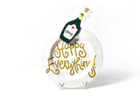 Happy Everything by Coton Colors  Happy Everything  White Stripe Happy Everything Platter with Champange Attachment $118.00