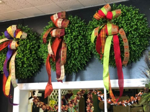 $179.00 Large Boxwood Wreaths