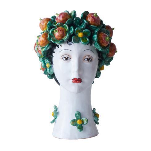 $958.00 Persimmon Head Vase