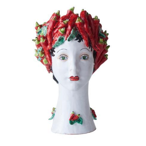 $958.00 Peppers Head Vase