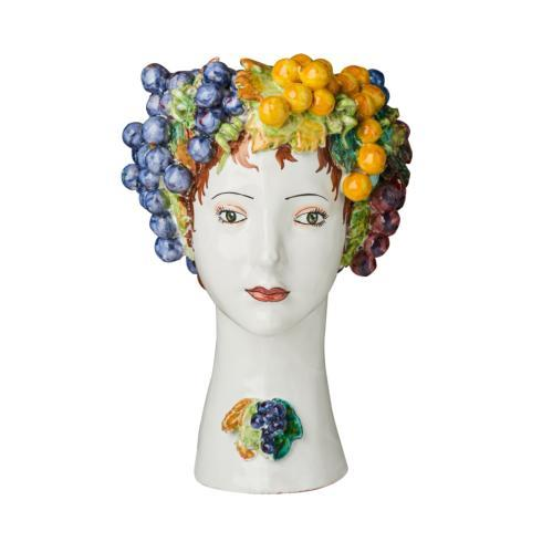 $958.00 Grapes Head Vase