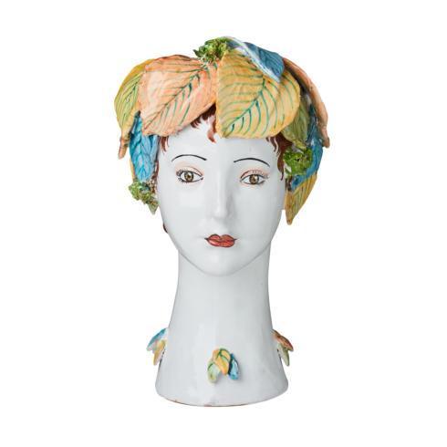 $958.00 Leaves Head Vase
