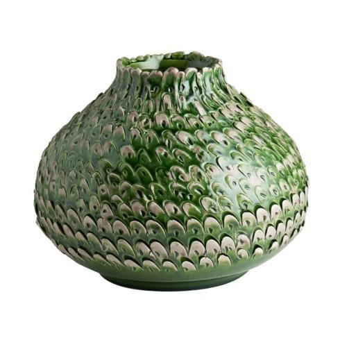 $310.00 Vase, Small, Green/Gray