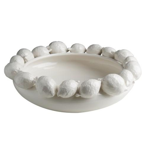 $420.00 White Lemon Bowl