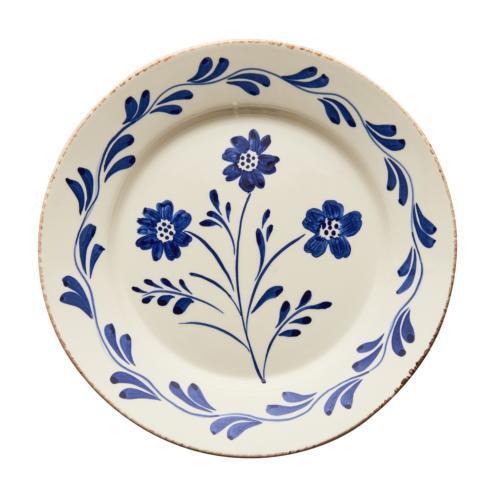 $120.00 Dinner Plate, Flower/Waves, Set Of 2
