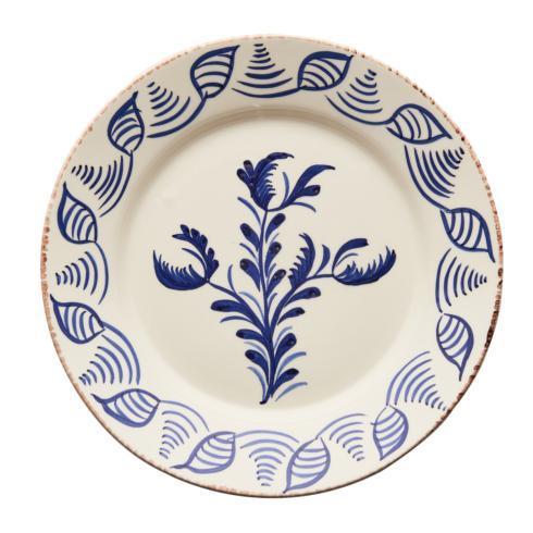 $120.00 Dinner Plate, 3 Flowers/Shell, Set Of 2