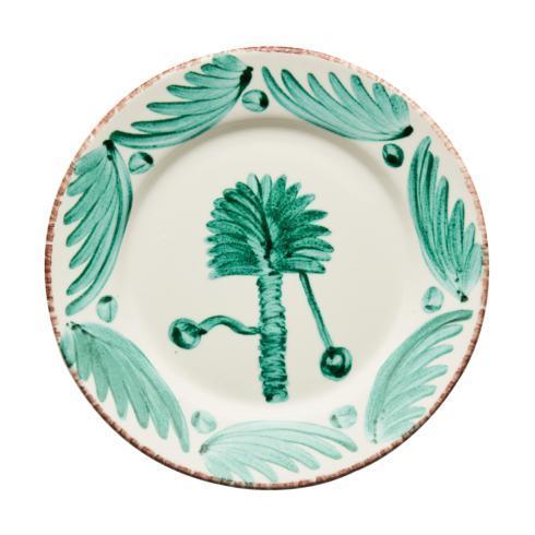 $120.00 Dinner Plate, Palm, Set Of 2
