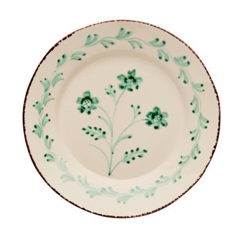 $120.00 Dinner Plate, 3 Flower/Vines, Set Of 2