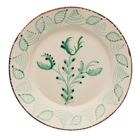 $120.00 Dinner Plate, 3 Flower/Shell, Set Of 2