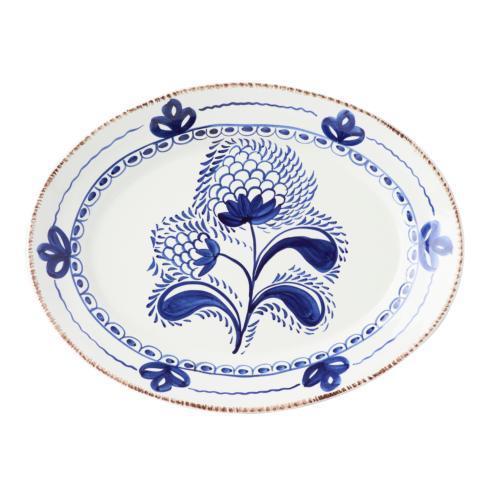 $166.00 Blue/White Platter