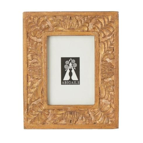 $53.00 Picture Frame, Carved Wood