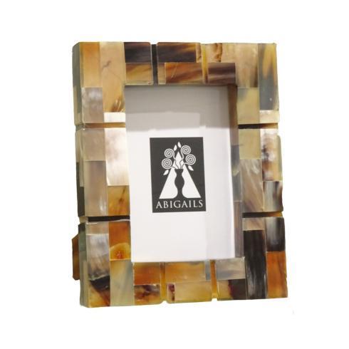 $77.00 Inlaid Frame, Black/Brown, 4X6 Photo