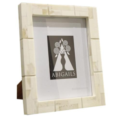 $106.00 Inlaid Frame, Bone, 8X10 Photo
